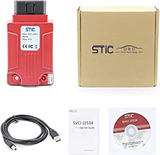 AKDSteel SVCI J2534 Diagnostic Tool for Fo-rd & Ma-zda Support Online Module Programming Better Than VCMII -for Auto