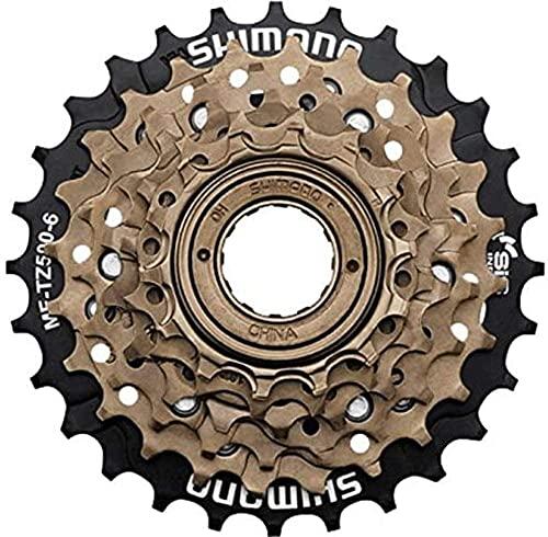 MEGHNA Pignone a Ruota Libera per Bicicletta a 6 velocità MF-TZ500-6 14-28 T Accessori per Mozzo per Mountain Bike