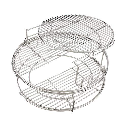 3 Tier 5 Piece EGGspander Replacement Kit for Large Big Green Egg