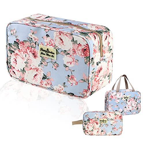 Toiletry Bag, Hand-Held Travel Hanging Cosmetic Hangbag, Portable Makeup...