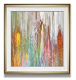 High Definition Fine Print Colorful Artwork Mislead II Custom Framed Print Wall Art, has a High quality framed art prints with beveled mat board shows a visual contract of enjoyment. A perfect wall decorations gift for your relatives and friends as V...