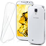 MoEx Coque Transparente Compatible Samsung Galaxy S4 Mini | antidérapante/très Fine, Transparent