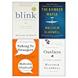 Malcolm Gladwell Collection 4 Books Set (The Bomber Mafia [Hardcover], Outliers The Story of Success, Blink, Talking to Strangers)