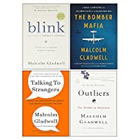Malcolm Gladwell Collection 4 Books Set (The Bomber Mafia [Hardcover], Outliers The Story of Success, Blink, Talking to Strangers) 9124120162 Book Cover