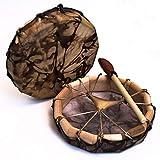 Native American style, Deer hide Frame drum 10'
