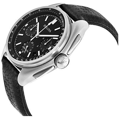 Bulova Hommes Chronographe Quartz Montre avec Bracelet en Cuir 96B251