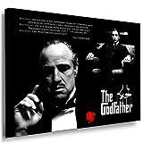 The Godfather - Al Pacino Leinwand Bild 100x70cm k. Poster