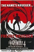 A Nightmare on Elm Street 4: Dream Master Poster Movie D 11x17 Robert Englund Rodney Eastman