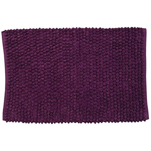 MSV 141384 Tapis de Bain Coton Violet 50 x 30 x 30 cm