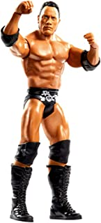 WWE The Rock Series 100 Mattel Action Figure Black/Orange