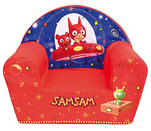 Fun House 713306 SAMSAM ET SAMNOUNOURS Fauteuil Club Enfant Origine France Garantie
