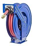 Coxreels TSHF-N-650 Supreme Duty Spring Rewind Hose Reel for Fuel: 1' I.D, 50' Hose, 300 PSI