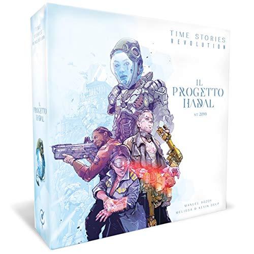 Asmodee Italia- Time Stories Ciclo Blu Revolution: Il Progetto Hadal Juego de...