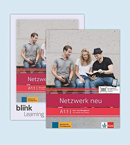 Netzwerk neu A1.1 - Media-Bundle: Deutsch als Fremdsprache. Kurs- und Übungsbuch mit Audios/Videos inklusive Lizenzcode für das Kurs- und Übungsbuch ... (Netzwerk neu: Deutsch als Fremdsprache)