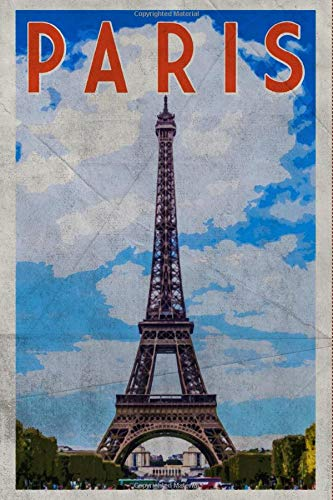 Paris: Vintage Notebook Journal Diary Planner