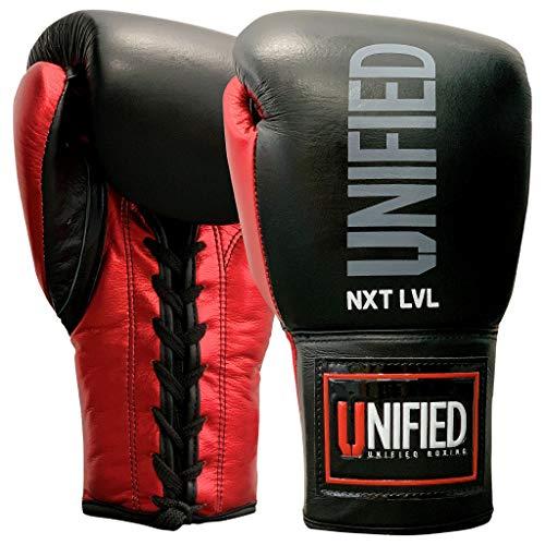 Guantes de boxeo NXT LVL Pro Standard Sparring con cordones