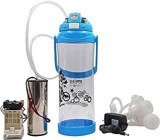 livestocktool.com Portable Pulse Milking Machine 3L/0.8 Gallon Double Head Milker for Sheep Goat Cow Milking Kit (Sheep/Goat, Blue)
