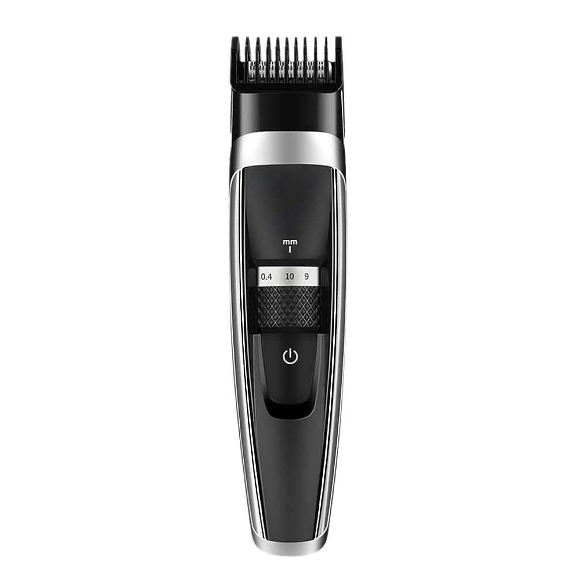 すばらしいです疑い者ゴールZAYAR 電動バリカン ヘアカッター ヒゲトリマー 充電式 散髪 17段階刈り高さ調節可能 丸洗い可 自宅用