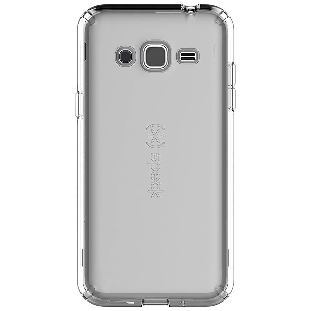 Speck Products CandyShell Clear Case for Samsung Galaxy J3 - Retail Packaging - Clear