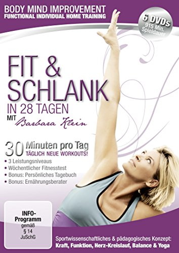 Body Mind Improvement - Fit & schlank in 28 Tagen [6 DVDs]