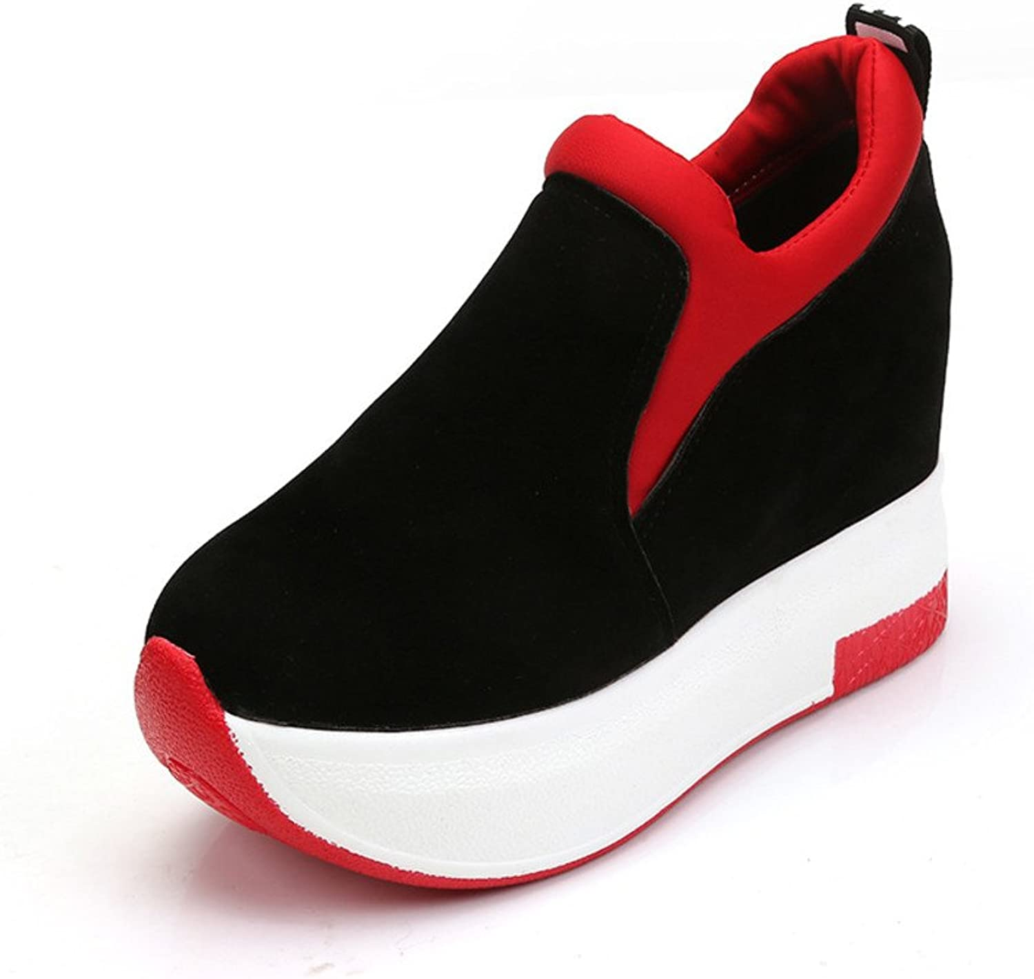Increased in thick-soled shoes Super high heel platform motion shoes casual shoes