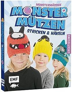 Edition Michael Fischer GmbH, Igling (EMF) Bonnet Monstre Monstre en Tricot et Crochet – édition Allemande