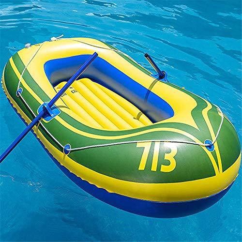 talogca Schlauchboot 2 Personen, Kajak Schlauchboot Set, Aufblasbares Kajak Aufblasbares Fischerboot