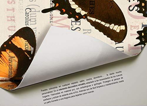 Cuzzco Alfombra de Vinilo, Unico, 100x15x15 cm
