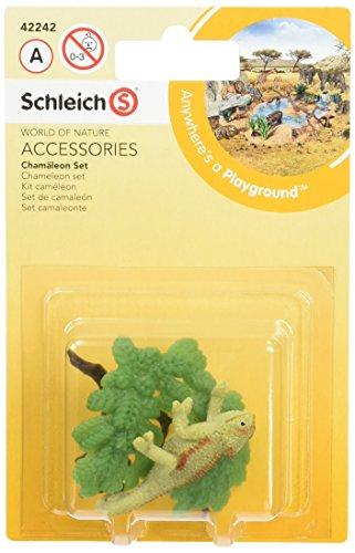 SCHLEICH 42242Chameleon Set Spielzeug Figur Wild Life Tiere