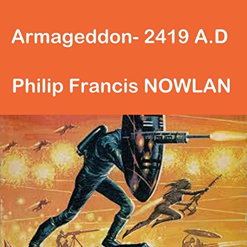 Armageddon 2419 AD audiobook cover art