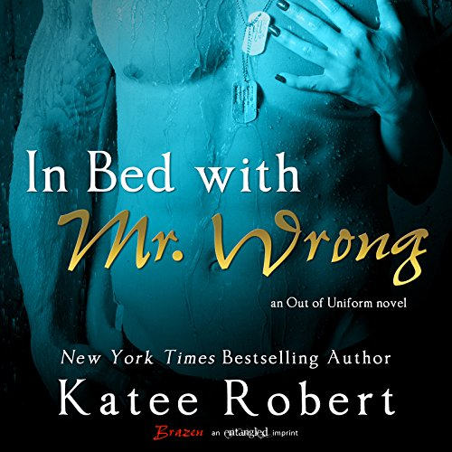 In Bed with Mr. Wrong audiobook cover art