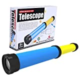 Sora Kit de telescopio para niños, estimula el interés de los niños en el Aprendizaje del Juguete telescopio portátil, Seguro e Inodoro para los Padres de los niños