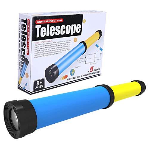 DIY Assemblaggio Telescopio Osservazione Giocattolo Esperimento...