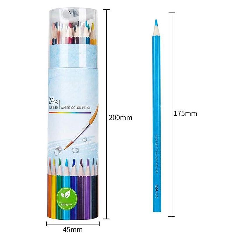 ピービッシュ正しくジャーナル大人のための描画と塗り絵のための48色鉛筆アーティストの大人と子供のための簡単なアクセス理想的なセット (Color : 48pcs)