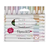 Papermania Metallic Pens - Rotulador permanente (con...