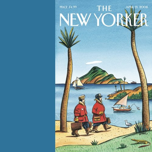The New Yorker, April 21, 2008 audiobook cover art