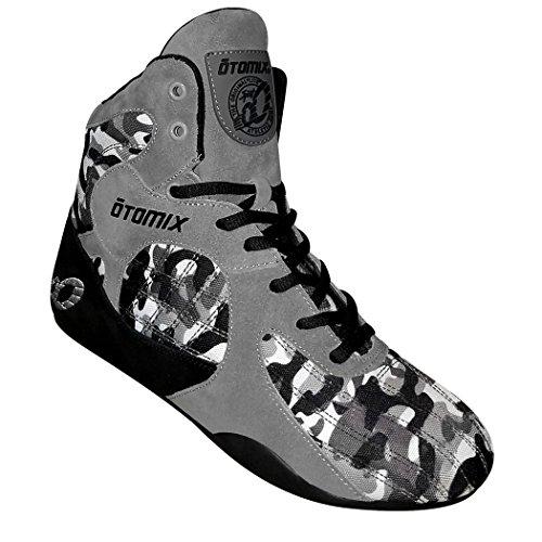 Otomix Stingray Escape Fitness Bodybuilding Schuhe - Grey Camo/Grau - EU 45