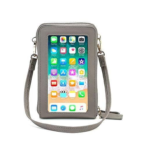 Piccola borsa per telefono a tracolla per le donne, borsa a tracolla per cellulare
