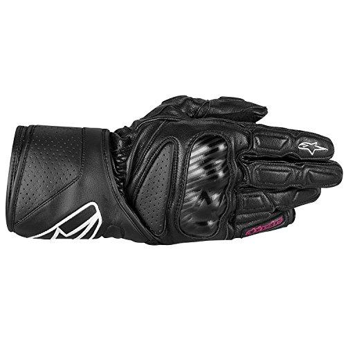 Alpinestars SP-8 STELLA Damen Motorradhandschuh Sport Leder - schwarz Größe DXS