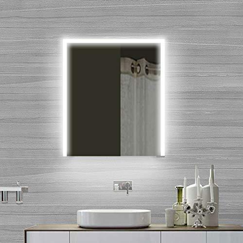 Lux-Aqua SMC6070DP Armadietto da Bagno, Alluminio, Argento/a Specchio, 600x700x120mm