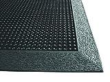 EnviroMats 14030305 Brush Tip Alfombra 0.90 x 1.20, Negro