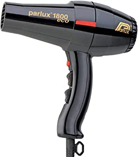 Parlux 1800 Eco Friendly 1280W Hair Dryer, Black