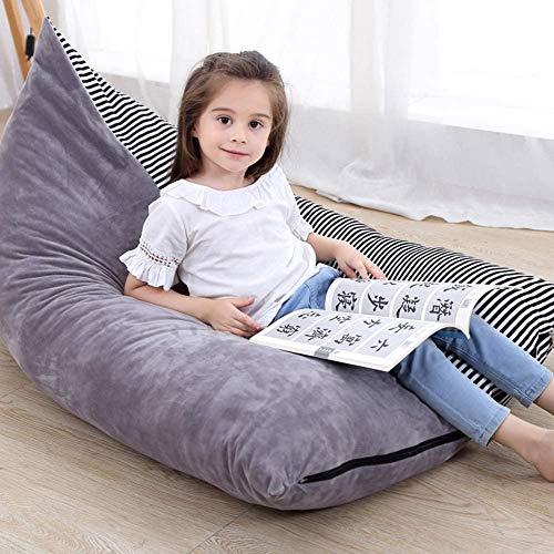KOLACEN Kuscheltier Aufbewahrung Sitzsäcke Weiche Klappstuhl Sofa Sitzbezug für Kinder Kinder Große Kapazität
