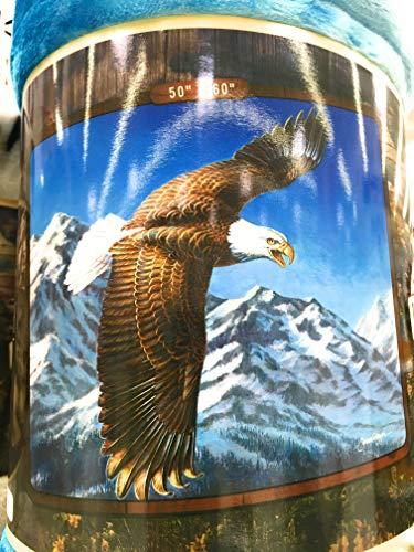 Northwest American Heritage Collection Royal Plush Raschel Throw