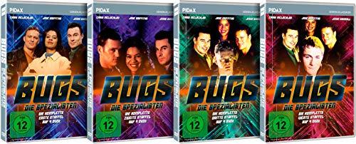 Bugs - Die Spezialisten - Gesamtedition / Die komplette Serie auf 12 DVDs (Pidax Serien-Klassiker)