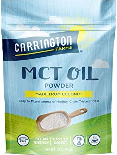 Carrington MCT Oil Powder Made from Coconut 5 oz (Pack of 2)