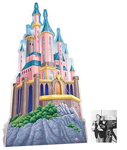 Preisvergleich Produktbild BundleZ-4-FanZ Fan Packs Disney Princess Schloss übergroß Pappfiguren / Stehplatzinhaber / Aufsteller - Enthält 8X10 (25X20Cm) starfoto