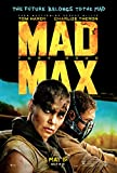 Mad Max Fury Road Movie Poster approx size 11x8 inches by