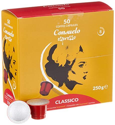 Consuelo Nespresso* kompatible Kapseln – Classico, 50 Kapseln