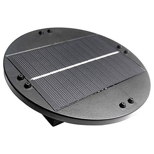 Su-xuri - Fuente solar para exterior, 6 V/1 W, bomba solar sin...